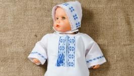 Комплект для немовля. Ручна вишивка.