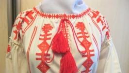 Сукня в стилі ′Бохо′,машинна вишивка