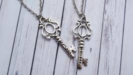 Парные кулоны ′Ключи от сердца′