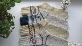 В′язані шерстяні носки