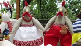 Петушок и Курочка украинские