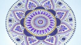 тарілка декоративна ′Сон-трава′