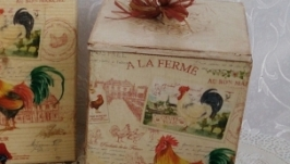 Комплект для кухни ′ Петушиные трели ′