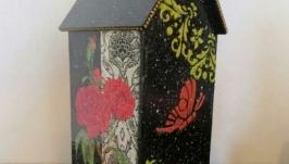 Чайный домик Розовый сад