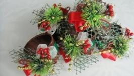 Новогодние кольца для салфеток