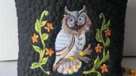 СОВА ВНОЧІ Текстильна сумка