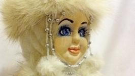 Авторская кукла ручной работы Снегурочка