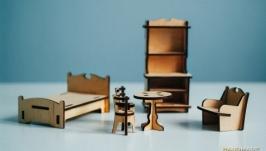 Набір меблі для ляльки