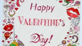 ❤️ Валентинка Открытка ❤️ ❤️ Подарок для девушки, парня, мужа ❤️