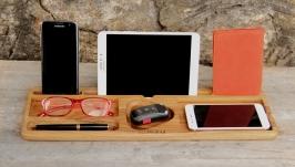 Настольный Органайзер Холдер Подставка Для Телефона Планшета iPhone iPad