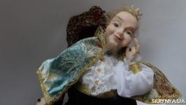 Авторская интерьерная кукла Царь Прохор мечтают