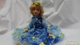 Авторская интерьерная кукла Весна