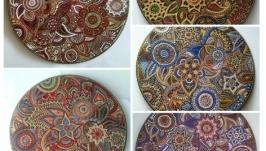 набір декоративних тарілок ′Sweet Orient′