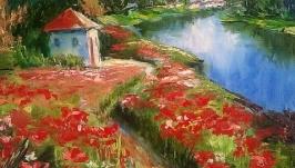 Картина маслом′ Цветы лета′