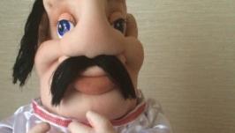 Кукла мини-бар ′ХОХОЛ′-ЗАНАЧКА ДЛЯ БУТЫЛКИ