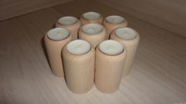 Подсвечник деревянный Цилиндр