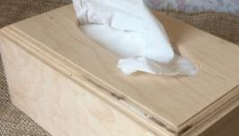 Салфетница 22,5х13х8,5 см см с овальным отверстием