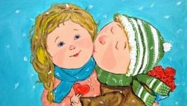 Картина Поцелуй