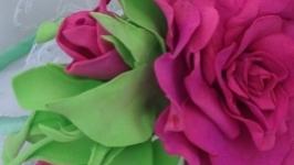 Ободок для волос ′Роза′