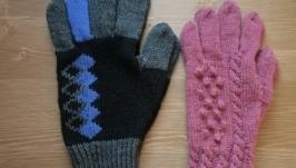 Как связать перчатки, Мастер класс, pdf