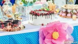 Цветы из бумаги тишью для декора