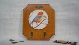 Ключница «Птичка певчая»