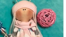 Интерьерная, текстильная кукла. Бабочка