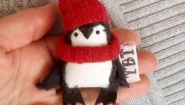 Брошка-малышка ′Пингвиненок′