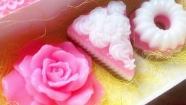Набор мыла ручной работы. Подарок на 8 марта