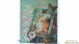Детская фоторамка для девочки ′Фея волшебного леса′. Декор детской комнаты