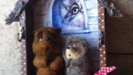 Ключница′Ежик в гостях у медвежонка′