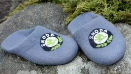Тапки, тапочки мужские, slipper, валяные тапочки.