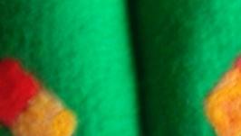 Тапочки валяные мужские ′Буйство зелени′