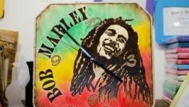 Часы настенные Bob Marley