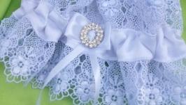 Свадебная подвязка для невес ′ White ′ в наличии