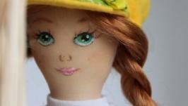 Интерьерная кукла Малышка, рост 24 см