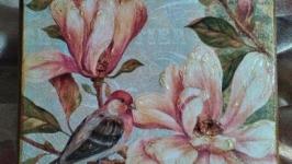 Набор ключниц-панно ′Орхидея′