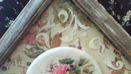 Ключница ′Цветочный домик′