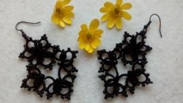 Серьги ′Бабочки′