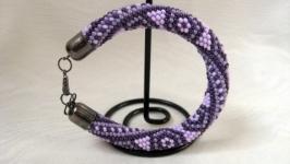 Браслет ′Фиолетовый микс′