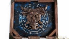 Интерьерное панно в кабинет ′Zodiac. Taurus′ Подарок мужчине Тельцу