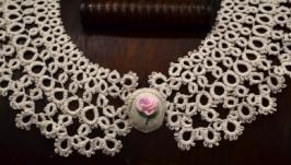 Кружевной воротник ′Крестьянка′  lace collar
