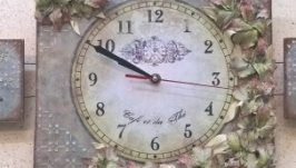 Часы-триптих ′РОСКОШЬ′