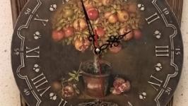 Часы ′Гранатовое дерево′