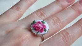 Кольцо ′Tender rose′
