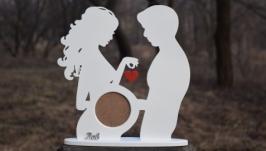 «Рамка для фото узд з іменем дитини»