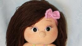 Вязаная кукла Лера