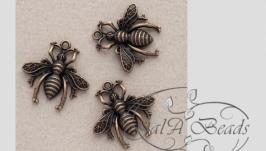 Подвеска Пчёлка медная пчела.