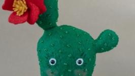 Сеньора Кактус, декоративный кактус из фетра