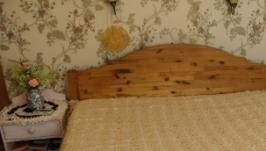 Покрывало на кровать  ручной ручной работы.
